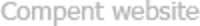 Compent Umbraco website