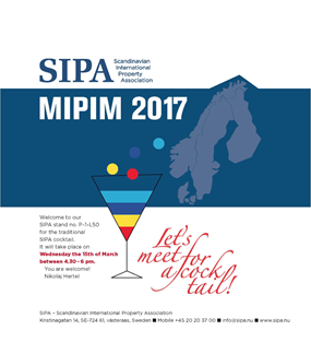 Sipa Cocktail Party at MIPIM 2017