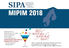 SIPA Cocktail Party at MIPIM